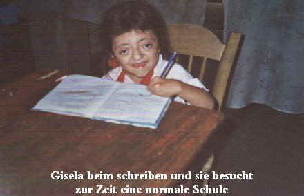Gisela ist beim schreiben1