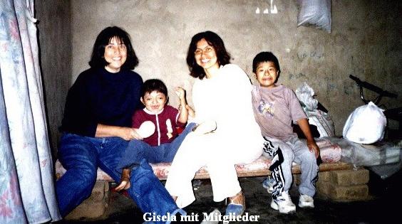 Gisela mit Mitglieder