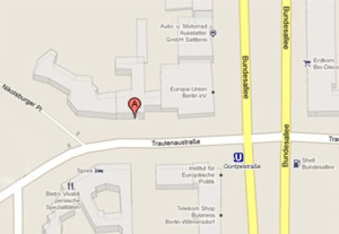 Karte Pangea Haus